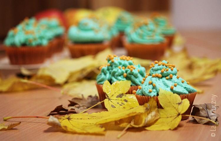Orangen-Bubblegum Cupcakes