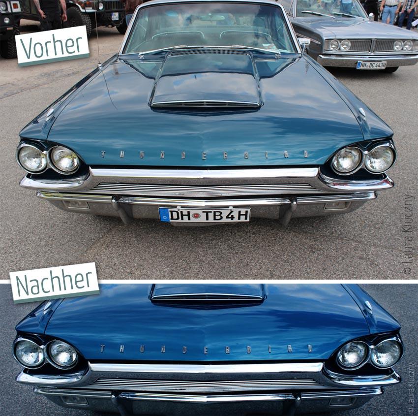 Thunderbird Vorher-Nachher-Vergleich