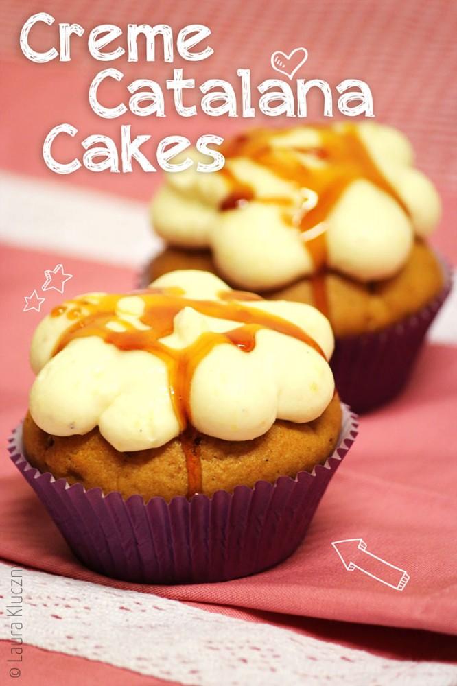 Creme Catalana Cakes: Vanilleküchlein mit Orangen- und Zitronenaroma und Karamell