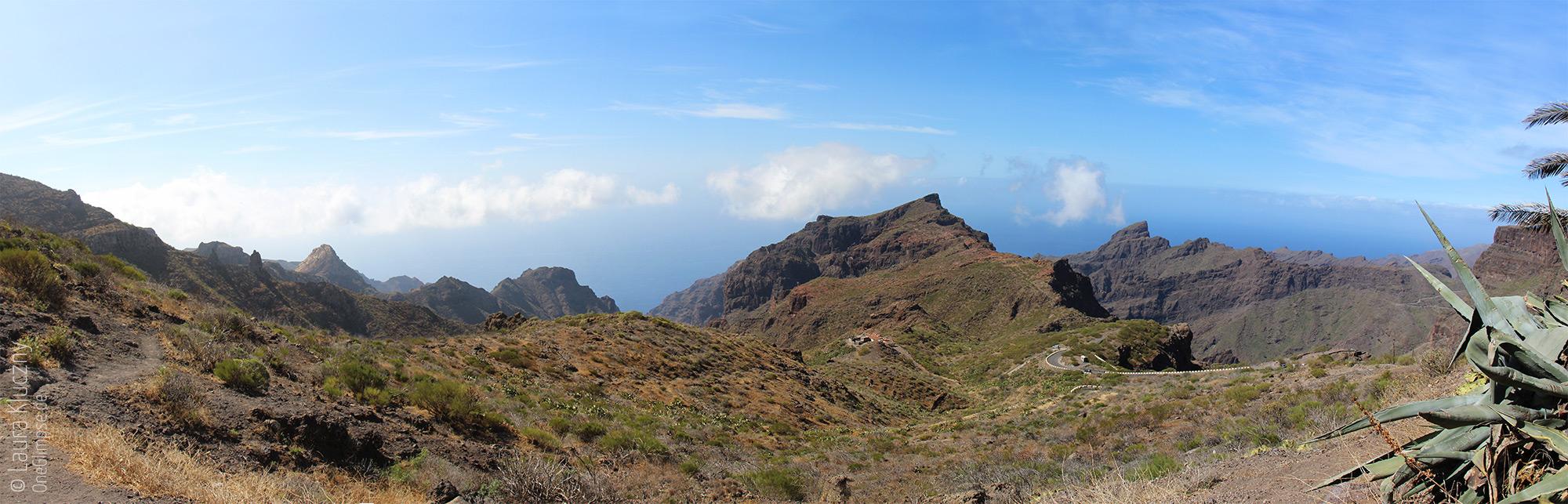Panorama-Foto vom Tenogebirge