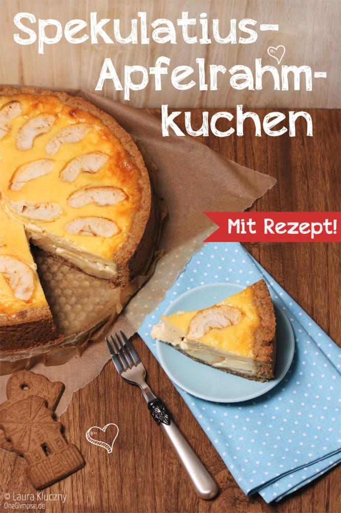 Spekulatius Apfel Rahmkuchen