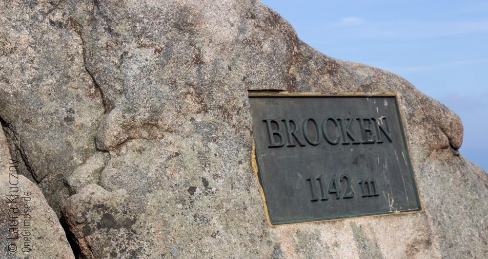 Auf 1142 Metern Höhe: der Brocken