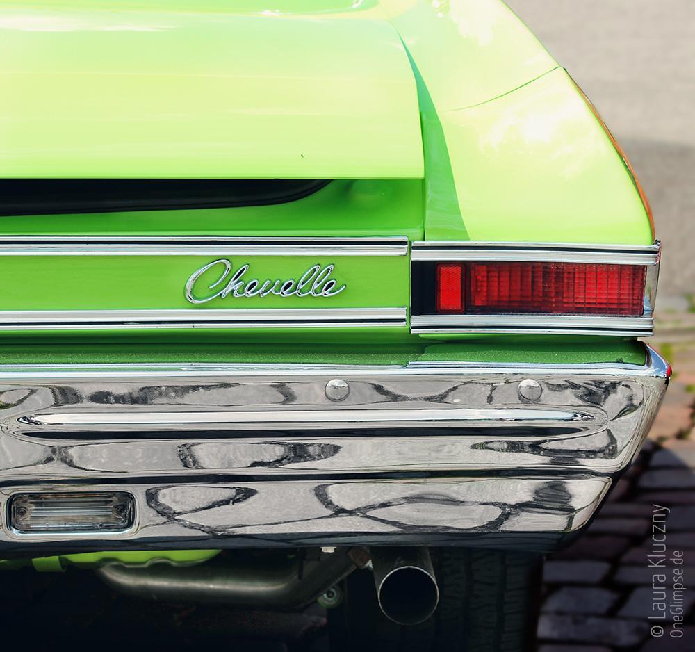 Chevrolet Chevelle, Street Mag Show 2014 Hamburg, Heck