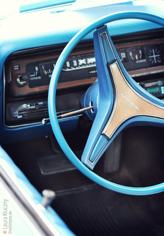 Dodge, Armature/Lenkrad, Street Mag Hamburg 2014