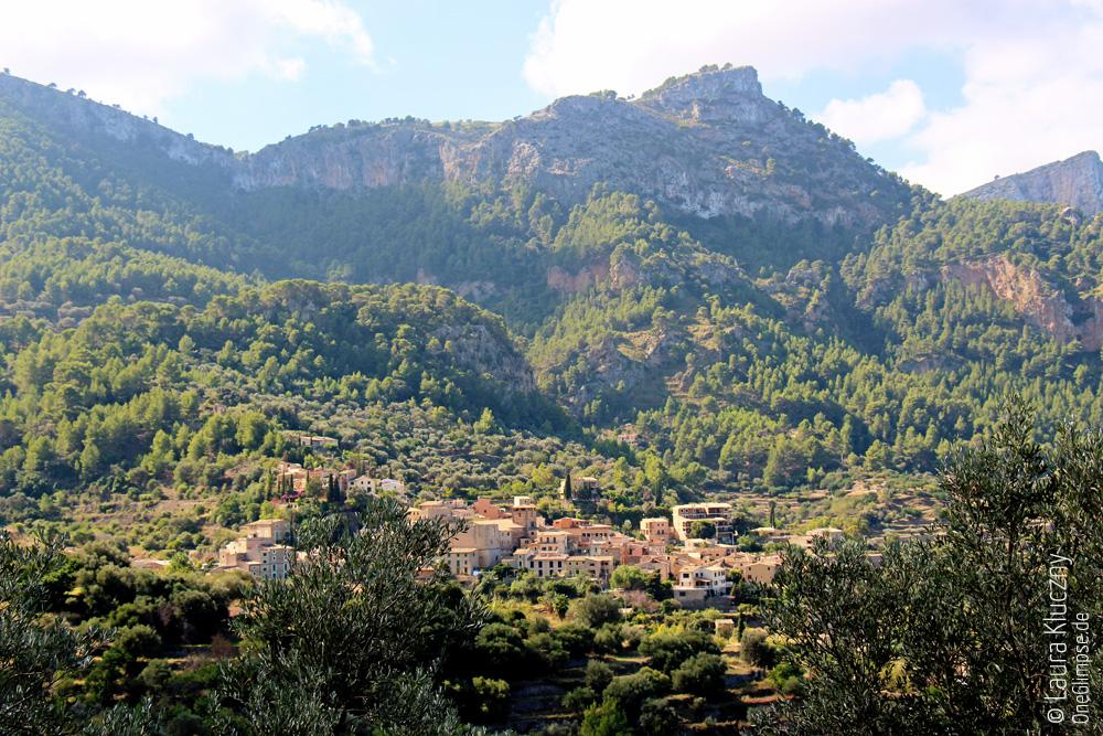 Mallorca, die Stadt Estellencs