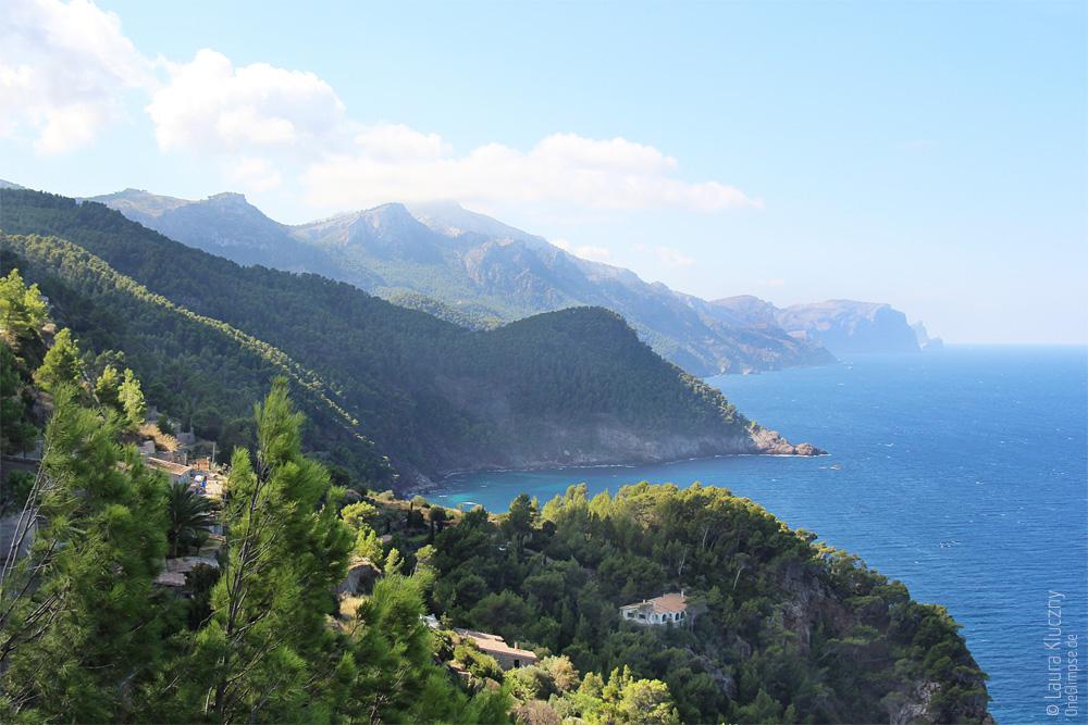 Ausblick vom Torre del Verger, wenn man nach links schaut