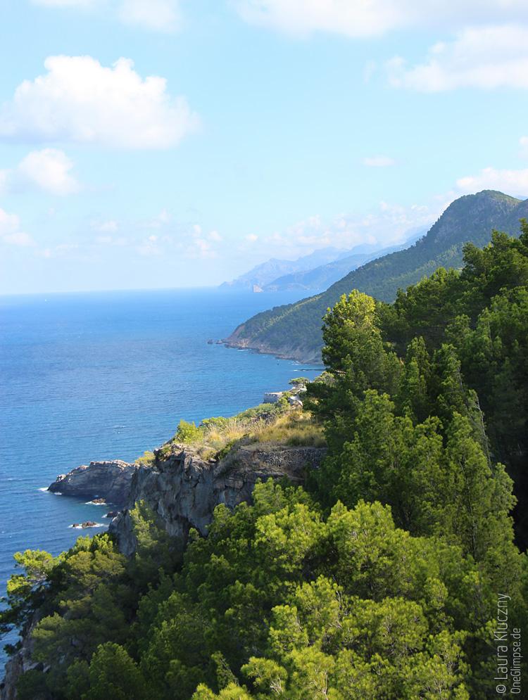 Ausblick vom Torre del Verger, wenn man nach rechts schaut