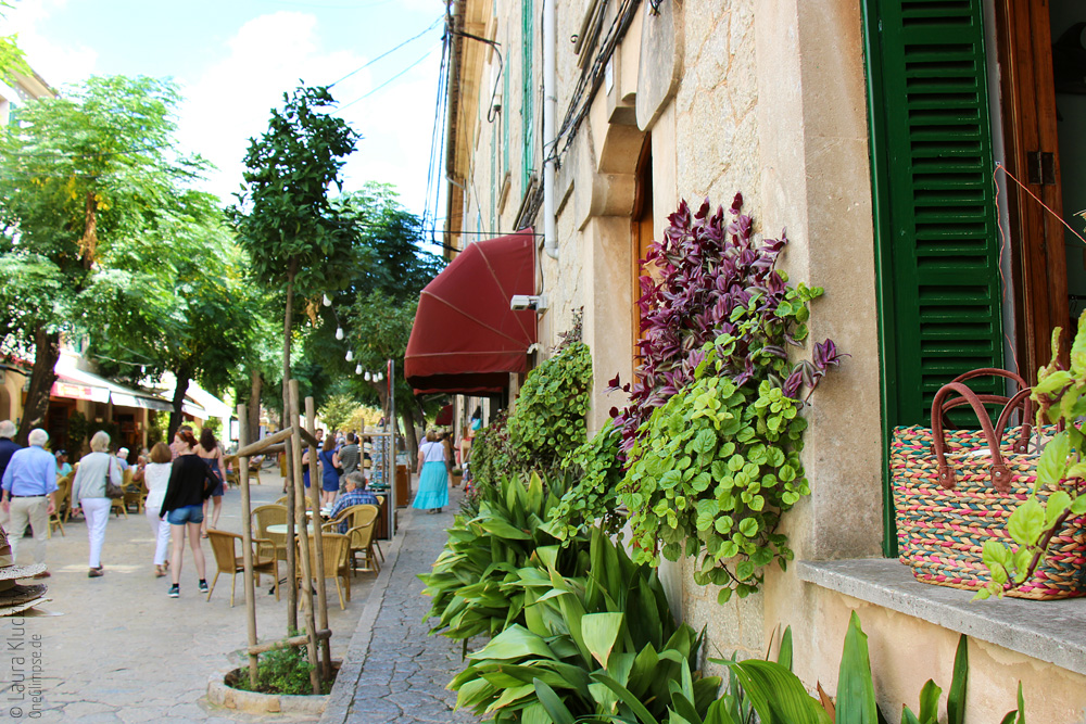 Mallorca, die Stadt Valldemossa