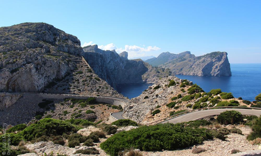 Mallorca, Aussicht vom Cap de Formentor