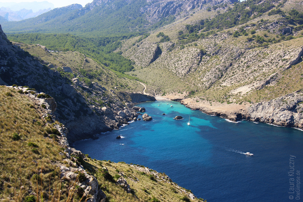 Mallorca, Formentor: wunderschöne Bucht