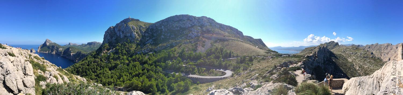 Formentor: Aussicht auf die Halbinsel, Mallorca