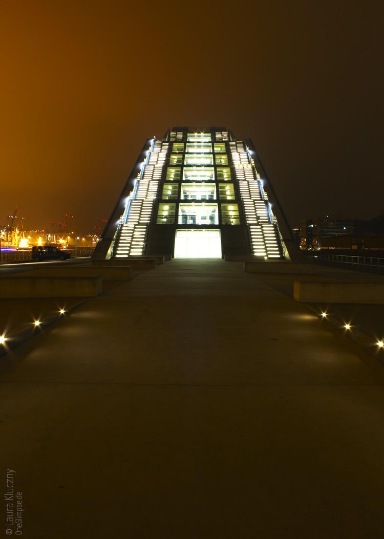 Hamburg bei Nacht: Dockland