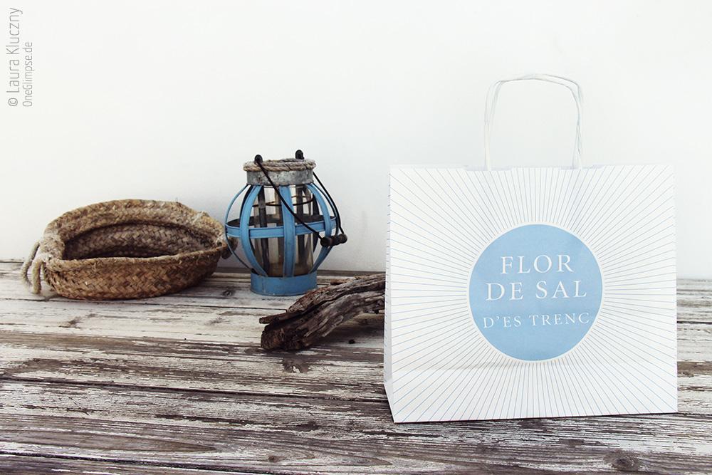Mallorca, Ses Salines, Flor de Sal d'es Trenc. Vor dem Geschäft