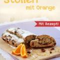 Marzipan-Stollen mit Orange, mit Rezept