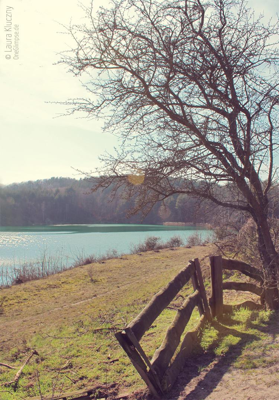 Der Jezioro Turkusowe (Türkissee) auf der Insel Wolin in Polen