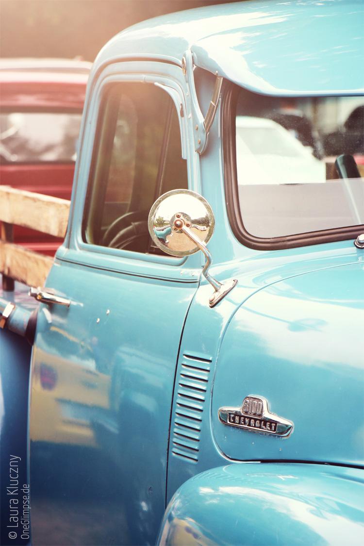 Street Mag Show 2015 in Hamburg: Chevrolet 3100 Pickup