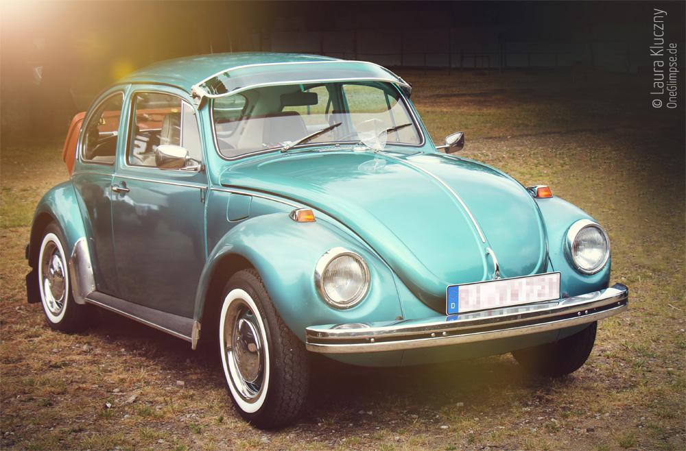 Street Mag Show 2015 in Hamburg: Ein US-Car-Exot? VW Käfer :D