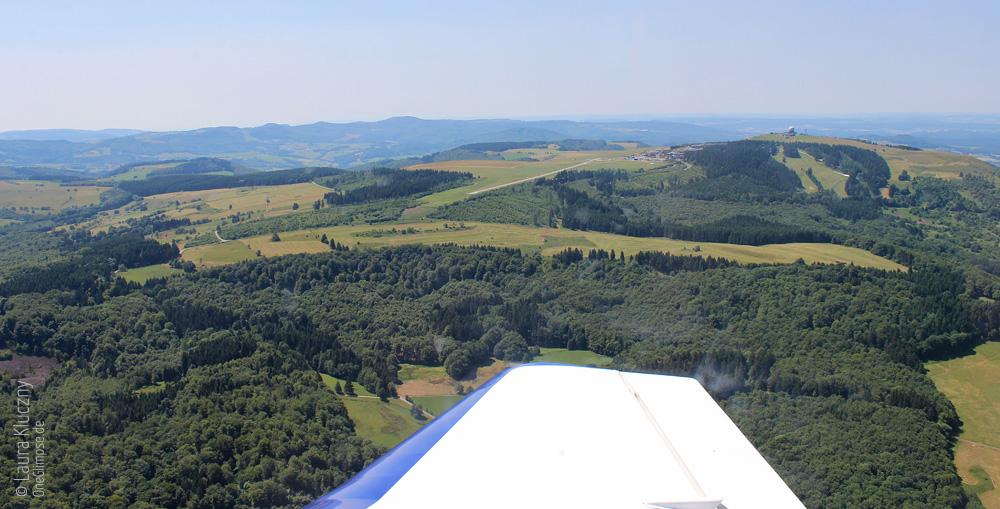 Rhön: Rundflug an der Wasserkuppe