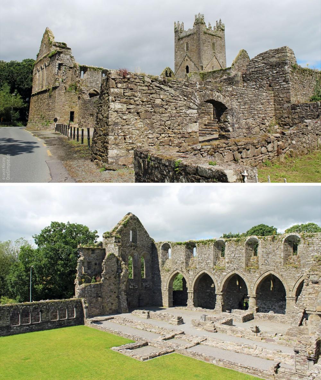 Jerpoint Abbey, Klosterruine, Irland