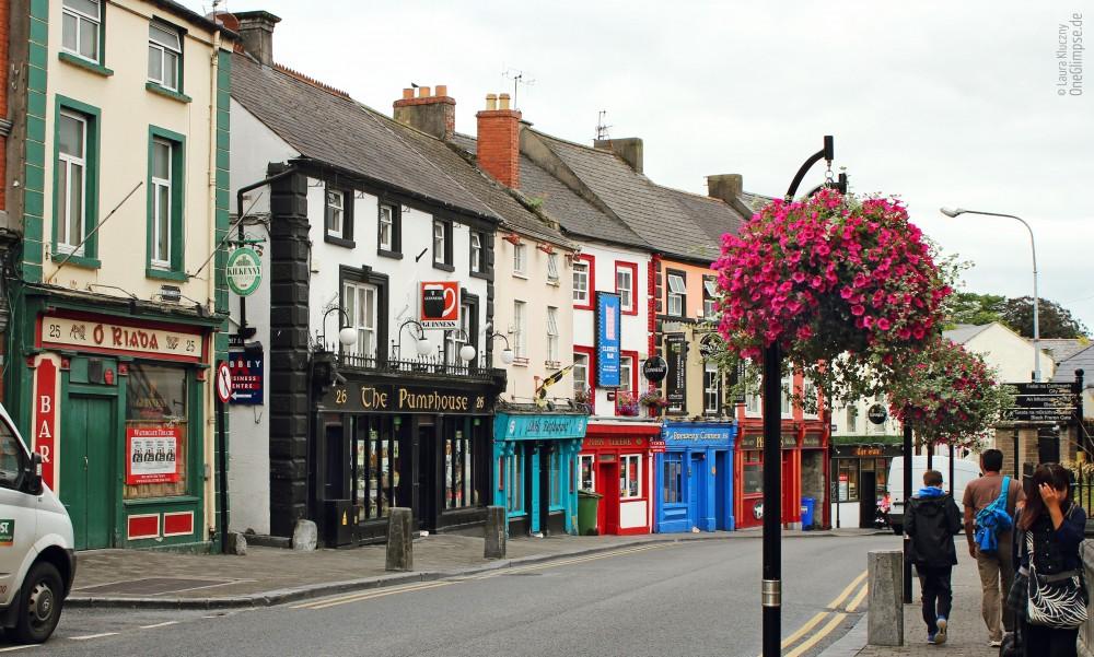 Stadt Kilkenny, Medieval Mile, Irland