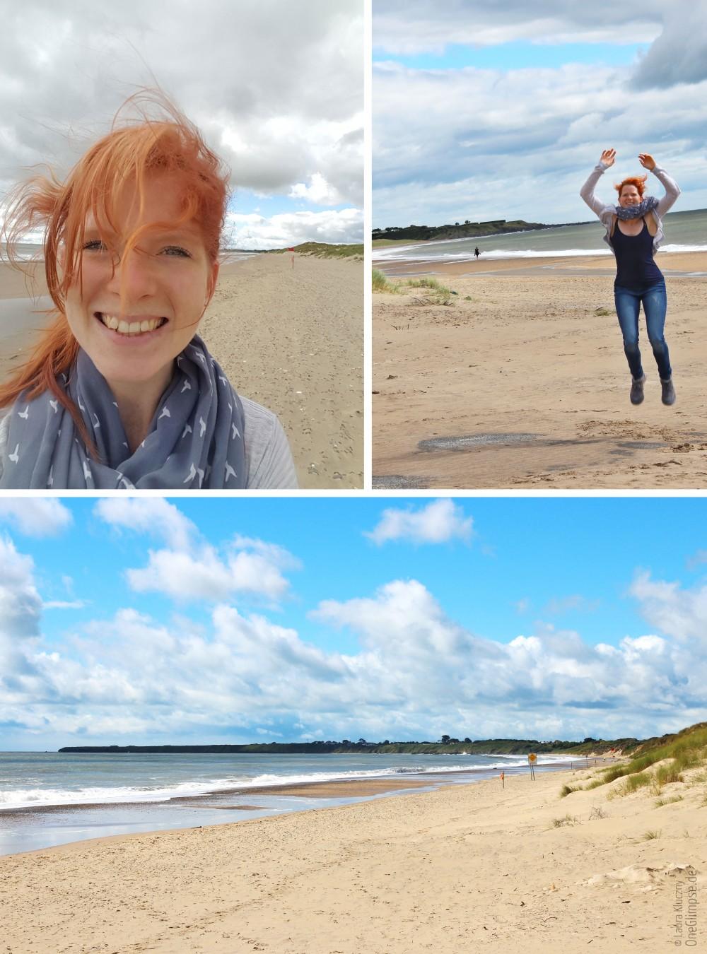 Brittas Bay: Wunderschöner, menschenleerer Strand an Irlands Ostküste