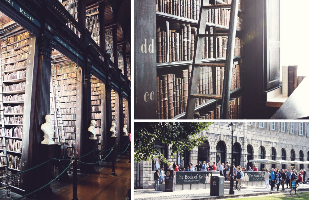 Trinity College: Book of Kells und Long Room, Dublin