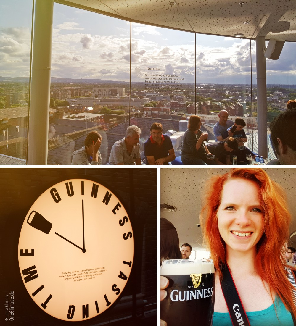 Guinness Storehouse in Dublin, 360-Grad-Panorama
