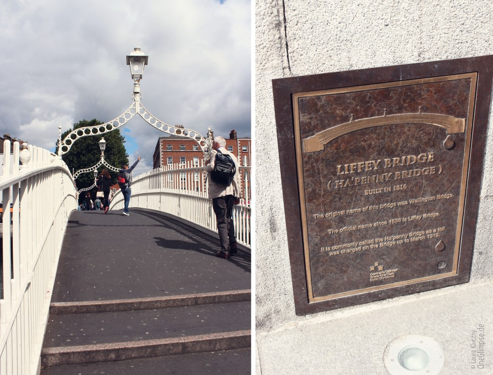 Ha' Penny Bridge – Liffey Bridge, Dublin