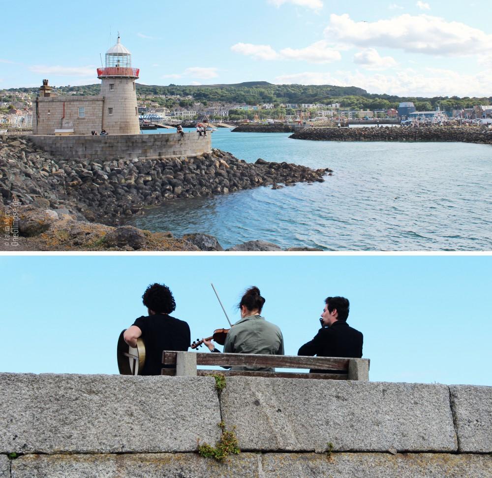 Halbinsel Howth: Leuchtturm und typisch irische Volksmusik