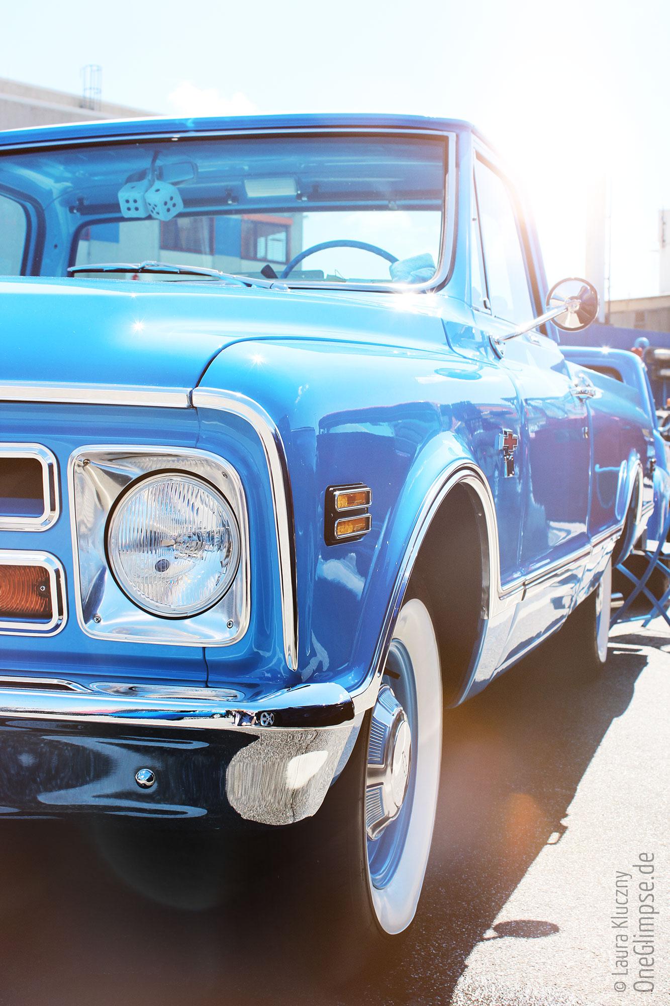 Chevrolet C10 Pickup blau, Street Mag Show 2018 Hamburg Oldtimer