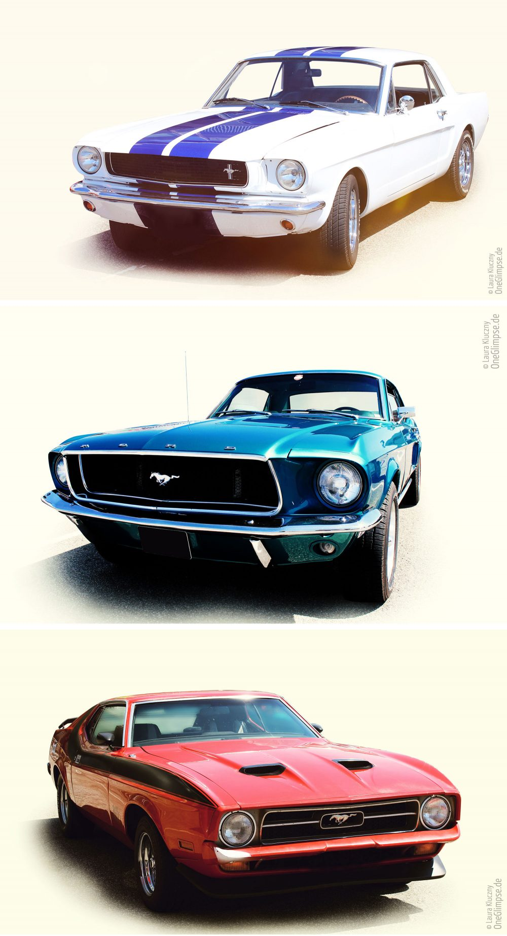 Ford Mustang 1965 1968 1971 Street Mag Show 2018