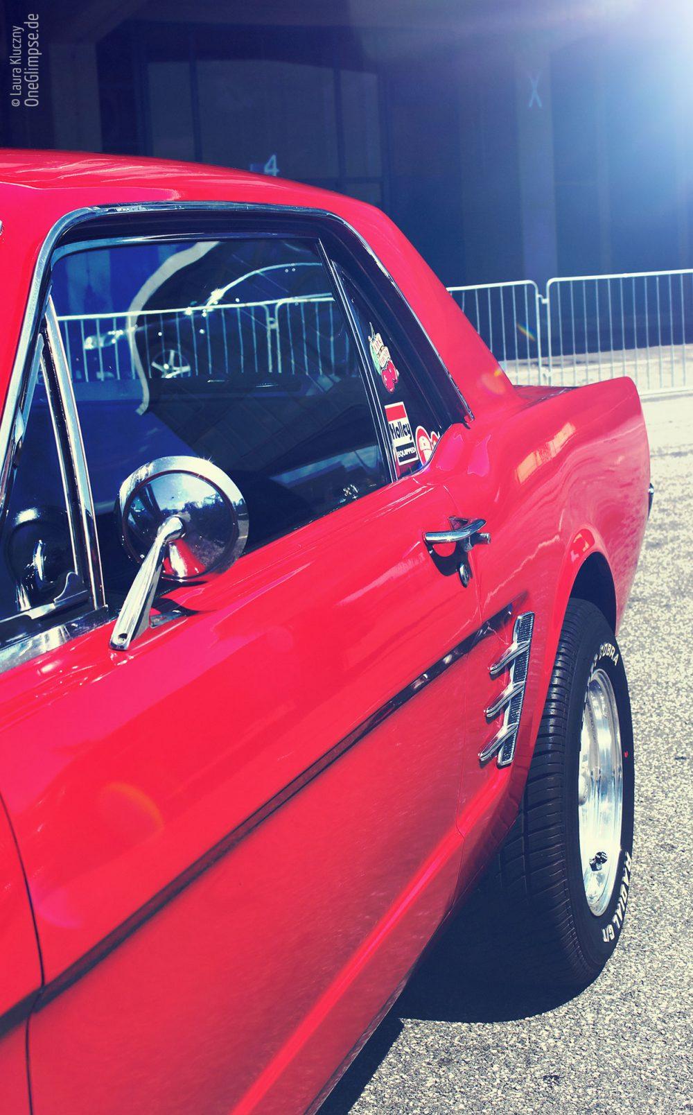 Ford Mustang rot Chrom Street Mag Show 2018 Hamburg