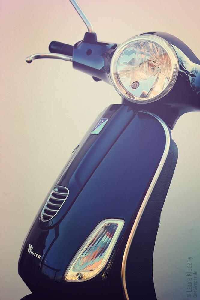 Bild zum Thema Fahrzeuge, Titel: Schlichte Eleganz einer Vespa