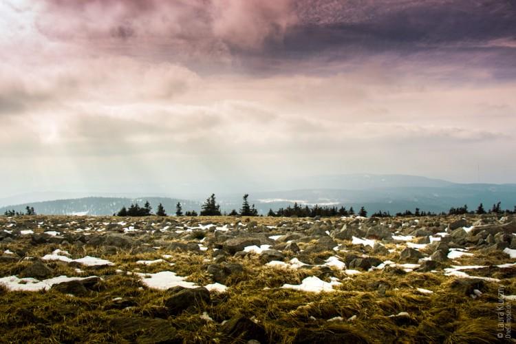 Aussicht vom Brocken, Harz