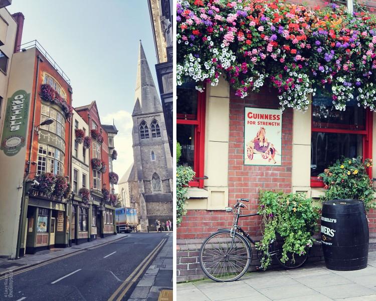 Dublins Innenstadt: voller Charme mit Pubs und Blumen
